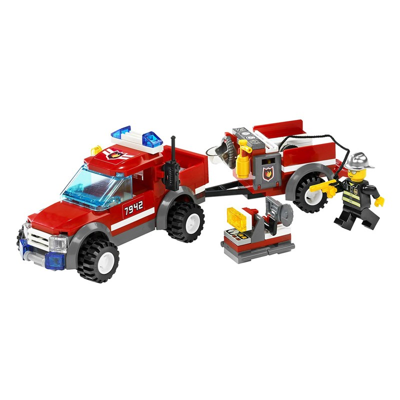 LEGO 7942 Xep hinh Fire Pick-up