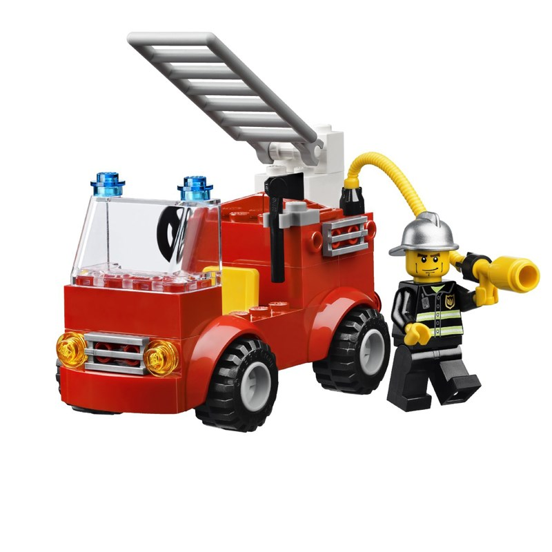 Do choi LEGO 10661 Fireman_action bo lap rap chu de cuu hoa