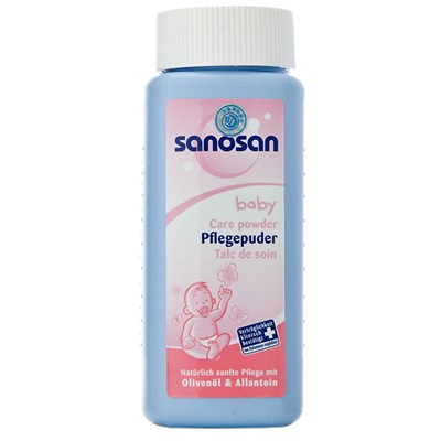 Phấn rôm Sanosan baby care powder 100gr