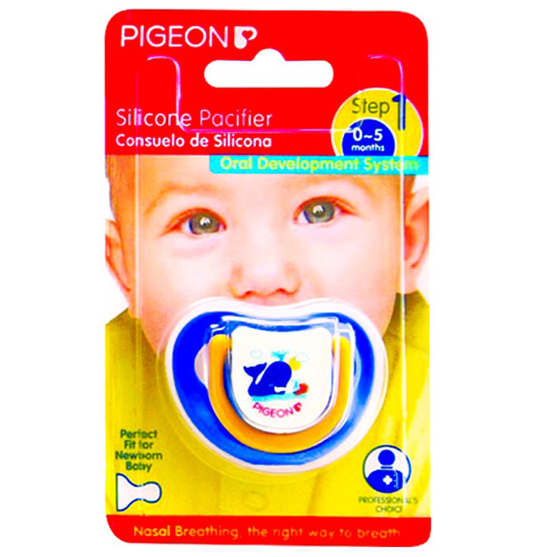 Ty ngậm silicone Pigeon