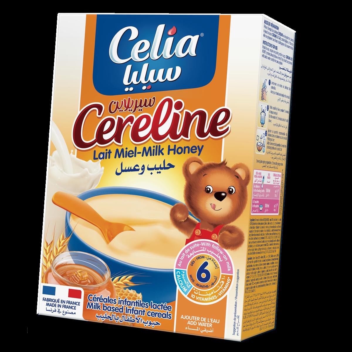 Ngũ cốc dinh dưỡng Celia có sữa hương vị mật ong