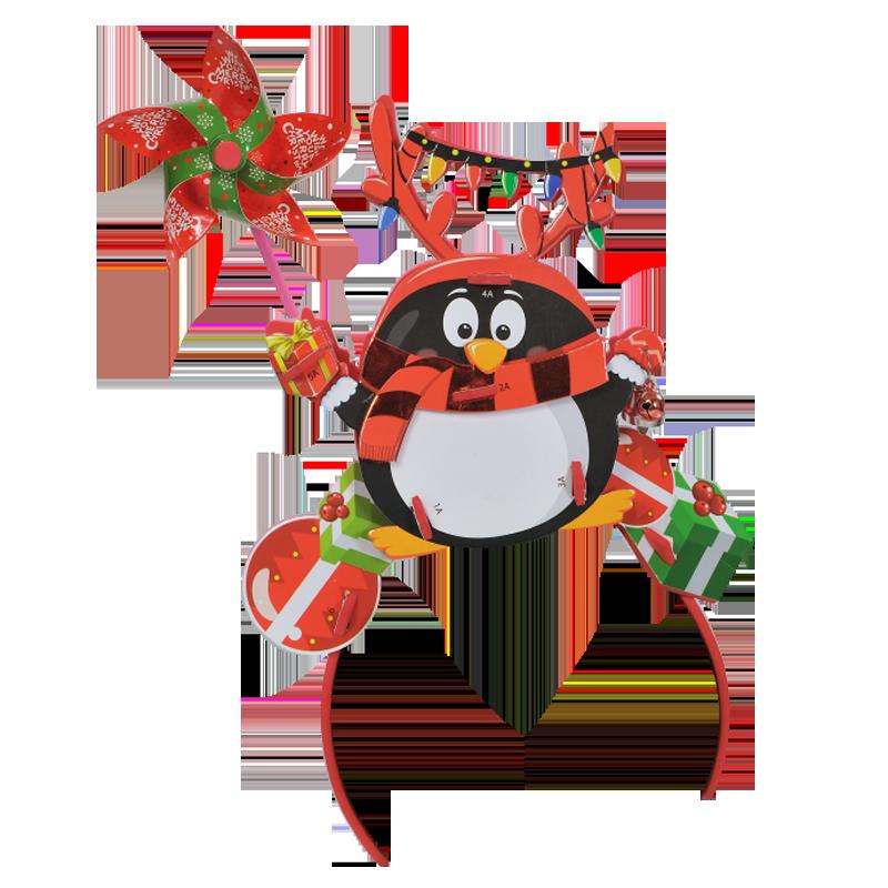 Băng đô 3D chong chóng Kibu - Chim cánh cụt