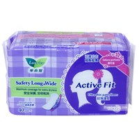 Bang ve sinh Laurier Active Fit sieu tham Hoa Anh Dao (40 mieng)