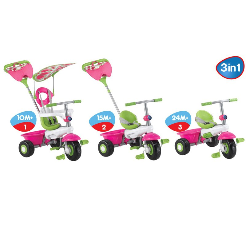 Xe dap 3 banh Smart Trike FRESH 3 in 1