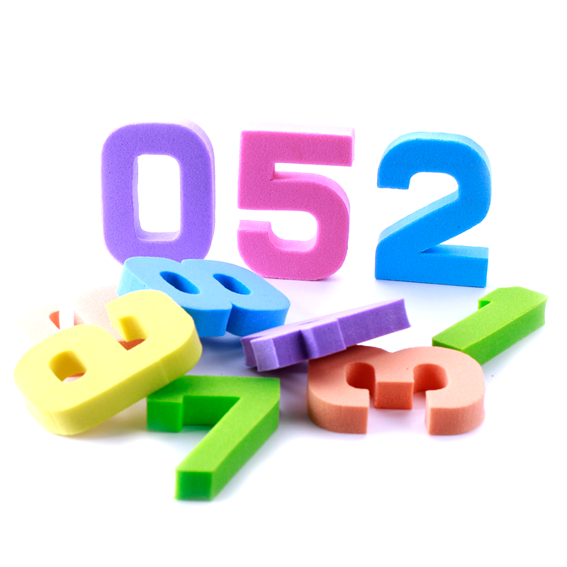 Bộ đồ chơi 10 số từ 0-9 PAPA ED045