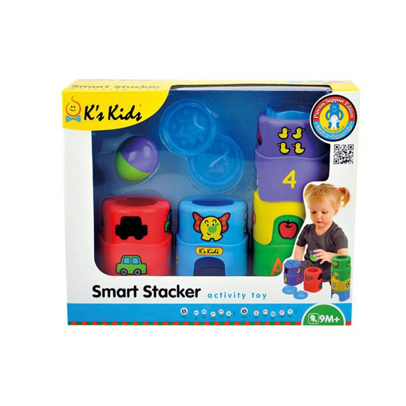 Bo do choi xep hinh thong minh Smart Stacker K's Kids KA10629-GB