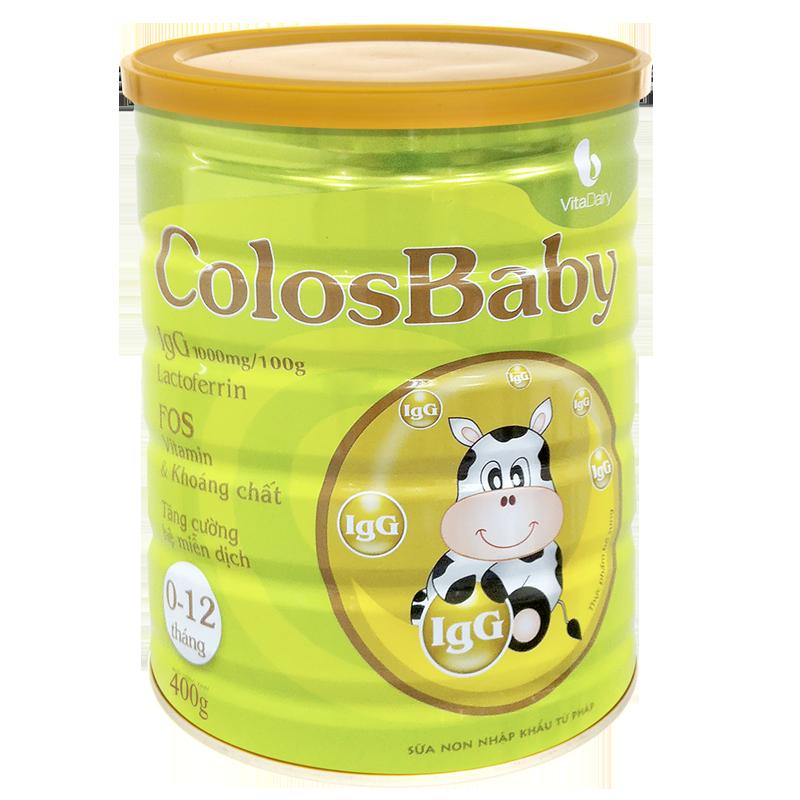Sữa non Colosbaby (0 - 12 tháng) 400g