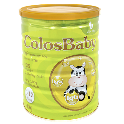 Sữa non Colosbaby (0 - 12 tháng) 400g
