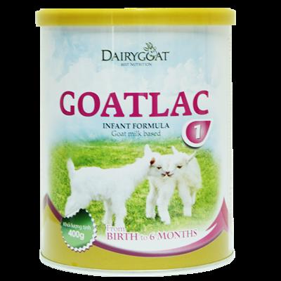 Sữa dê Goatlac 1 (0 - 6 tháng) 400g