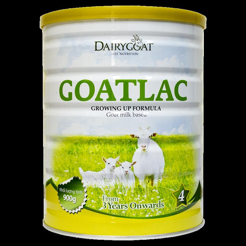 Sữa dê Goatlac 4 (cho trẻ trên 3 tuổi) 900g