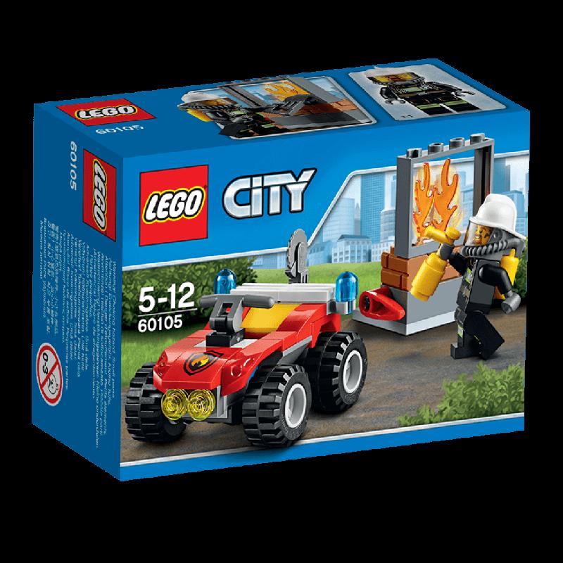 Đồ chơi Lego City 60105 - Xe cứu hỏa cơ động