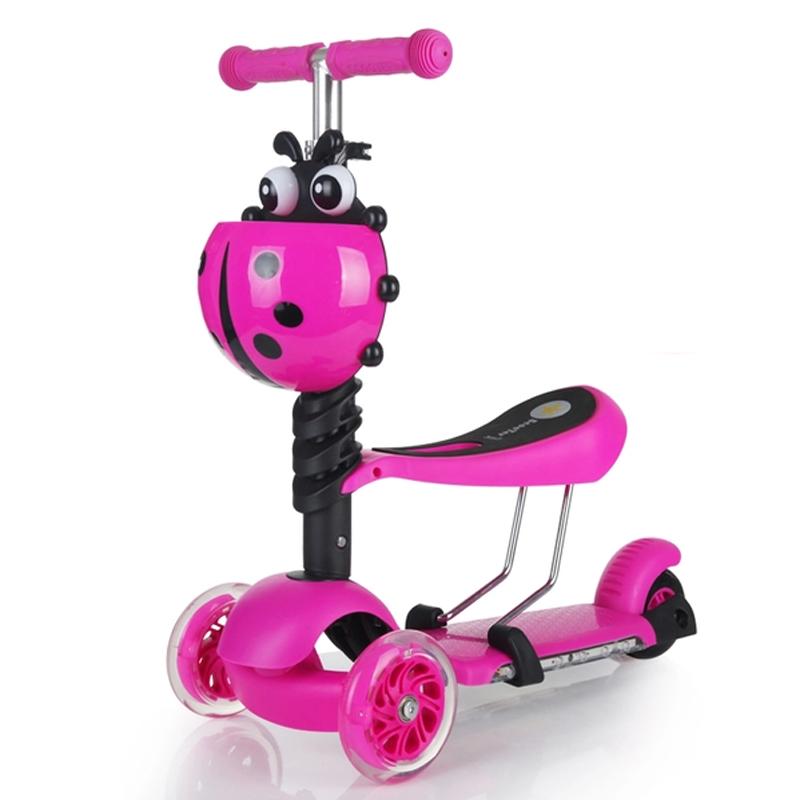 Xe trượt Scooter mini 3 trong 1 nhiều màu (loại 1)
