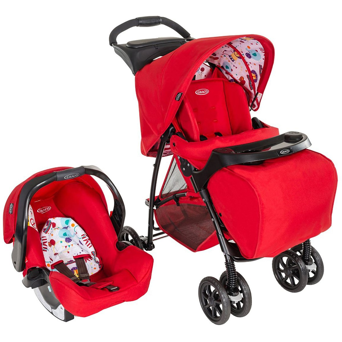 Xe đẩy Travel System Graco Mirage
