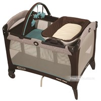 Giuong cui Graco PNP Reversible Napper & Changer Soho Square 1812041