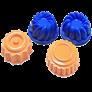 Khuôn nhựa Motion Sand - hình bánh ngọt M009