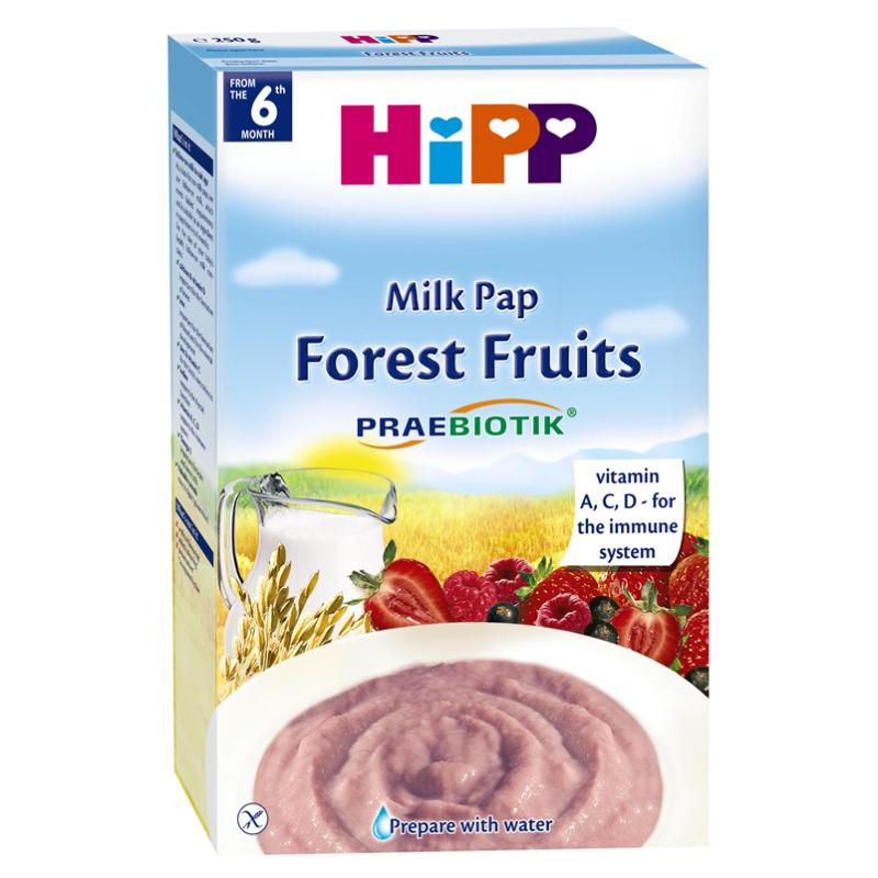 Bột dinh dưỡng Hipp hoa quả rừng