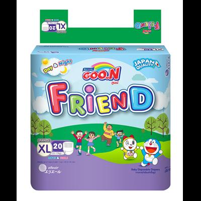 Tã - Bỉm quần Goon Friend XL20 (12-17kg)