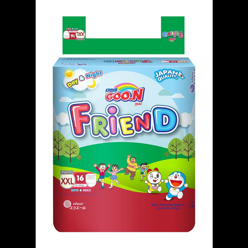 Tã - Bỉm quần Goon Friend XXL16 (15-25kg)