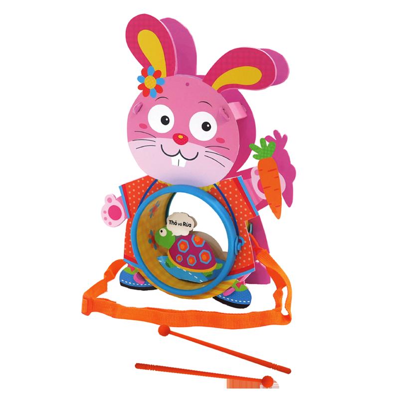 Lồng đèn trống Kibu - Thỏ lém KB309
