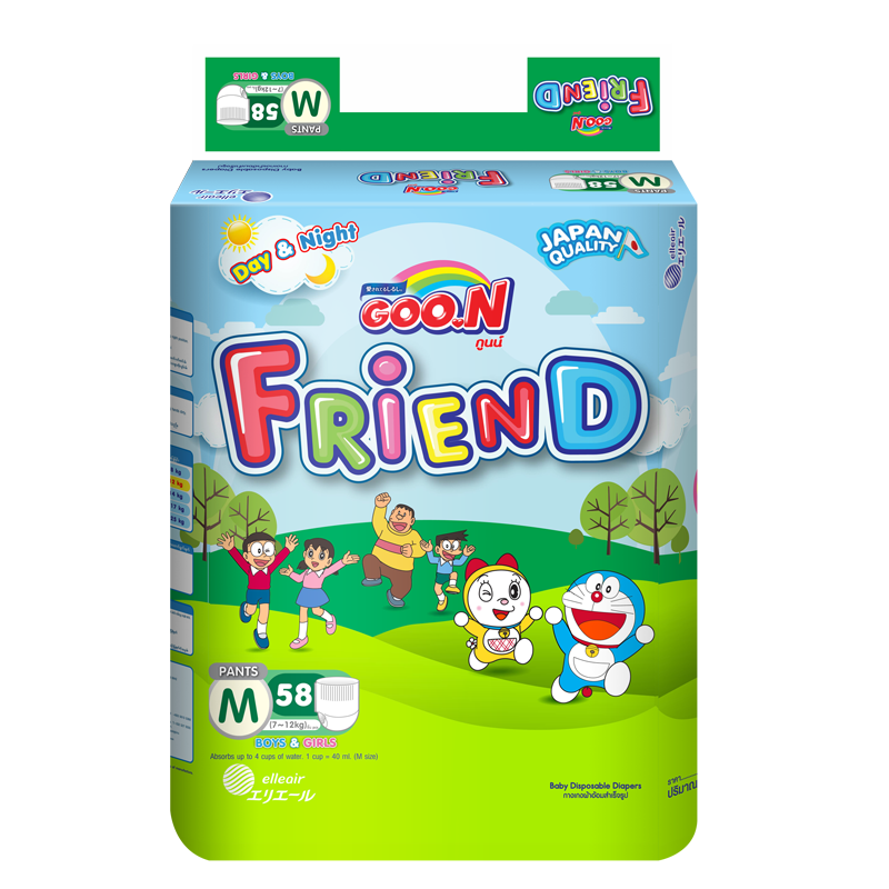 Tã - bỉm quần Goon Friend M58 (7-12kg)
