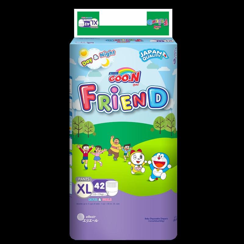 Tã - bỉm quần Goon Friend XL42