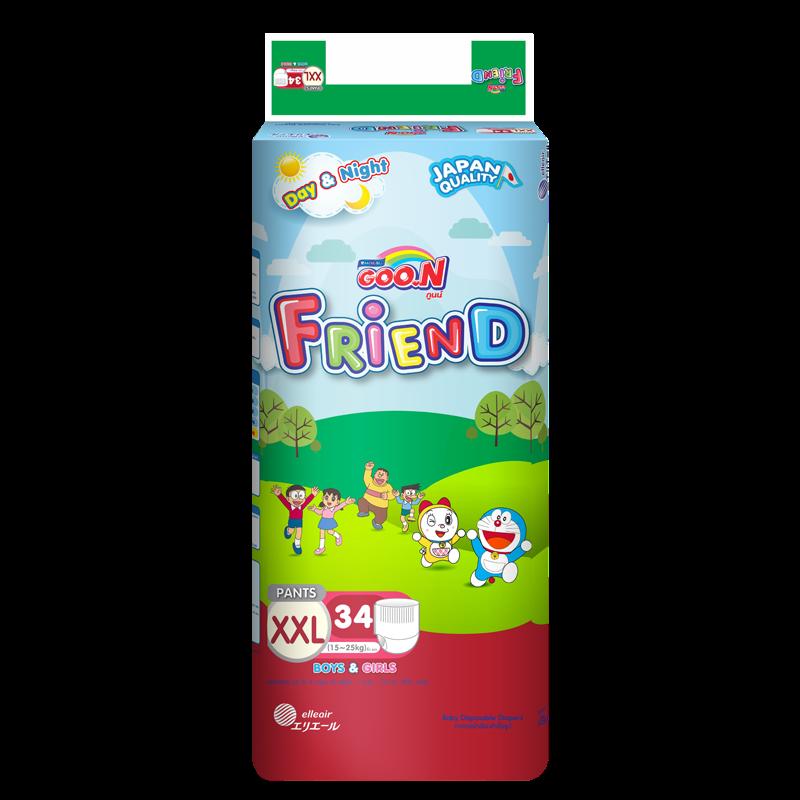 Tã -bỉm quần Goon Friend XXL34