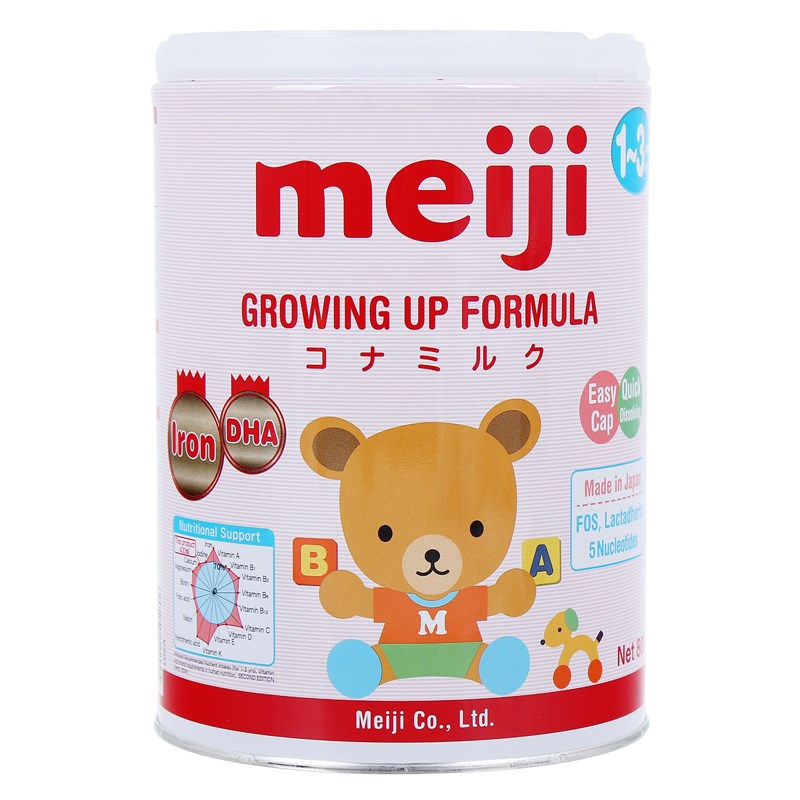 Sua Meiji 9 (1-3 year) Growing Up Formula 800g
