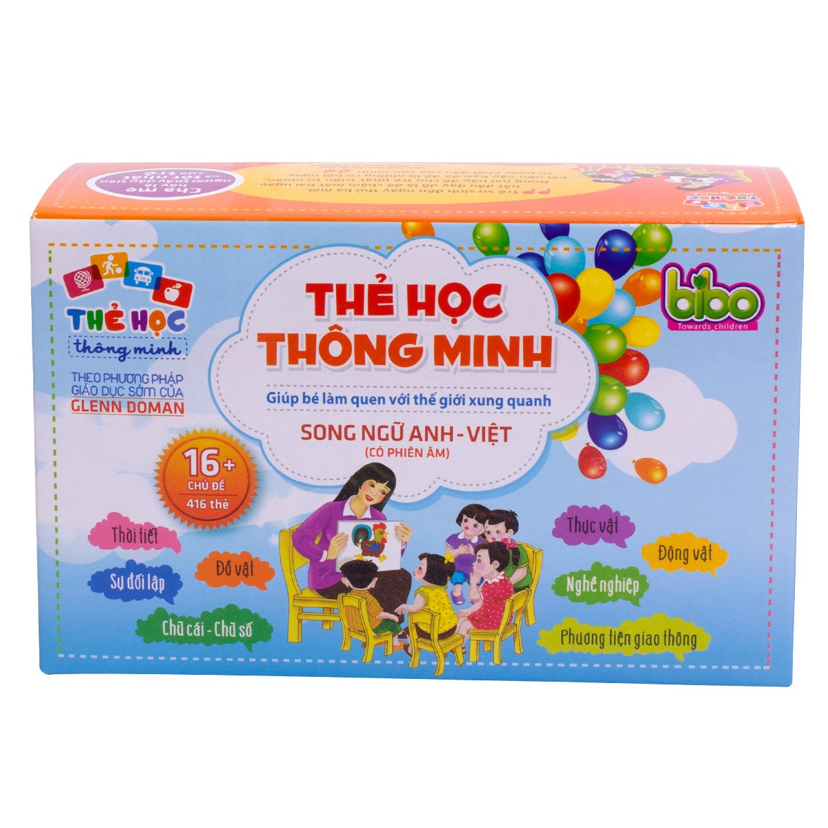 Bo the hoc thong minh 16 chu de (416 the)
