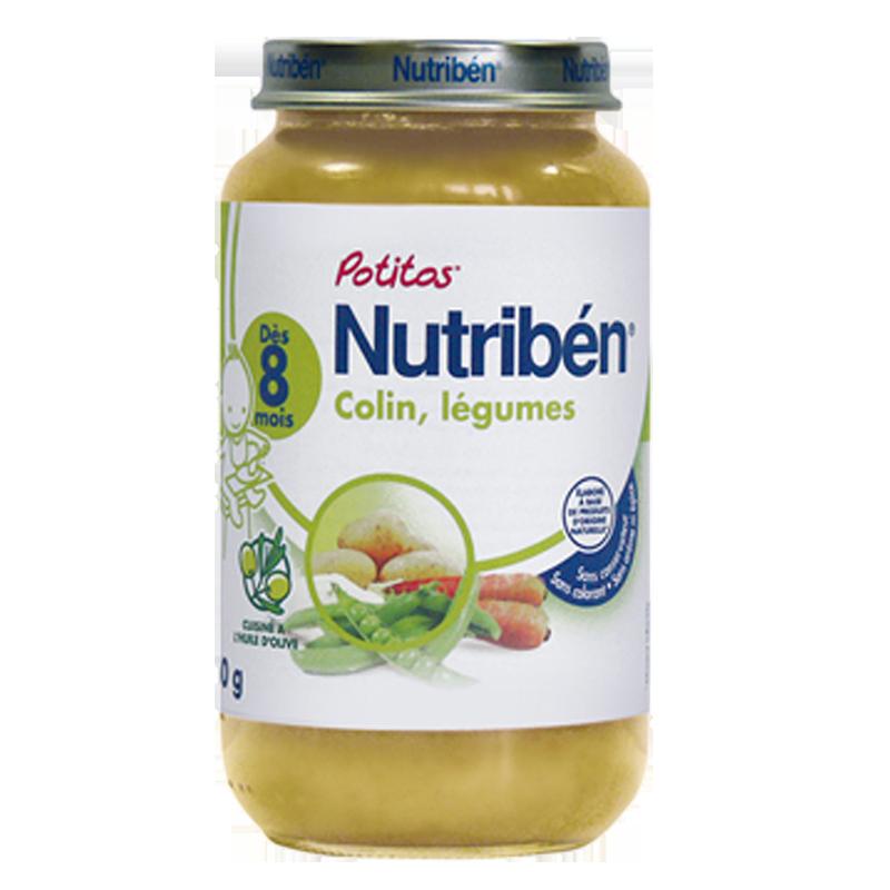 Dinh dưỡng đóng lọ Nutriben - cá tuyết và rau củ 250g