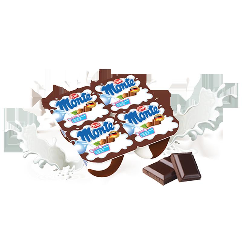 Váng sữa Monte hương Socola