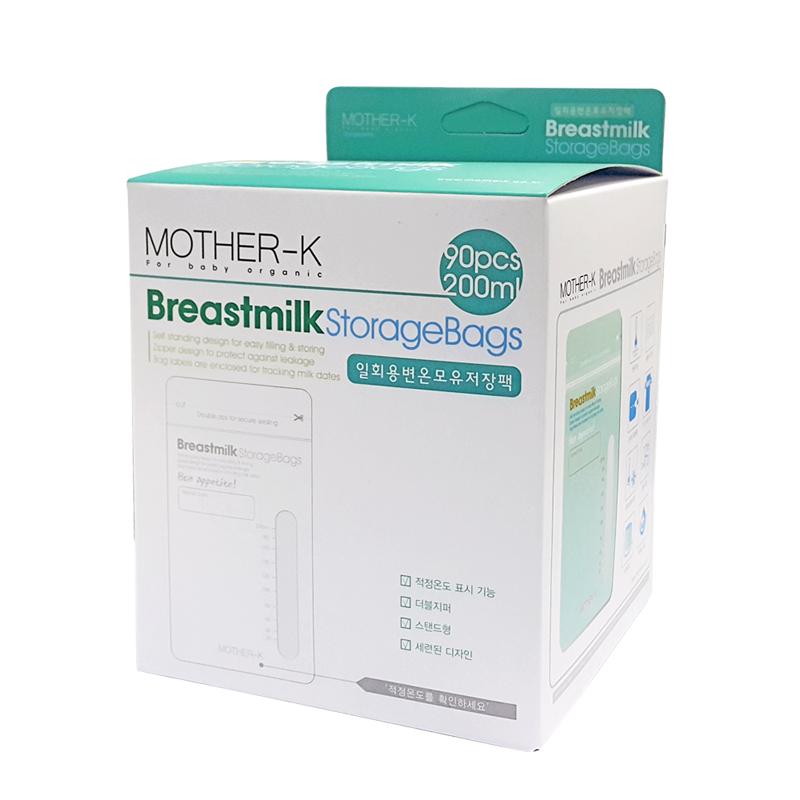 Túi trữ sữa cảm biến nhiệt Mother-K Hàn Quốc (90c)