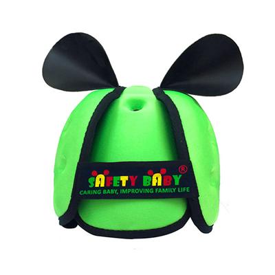 Mũ cho bé tập đi Safety Baby (Xanh chuối)