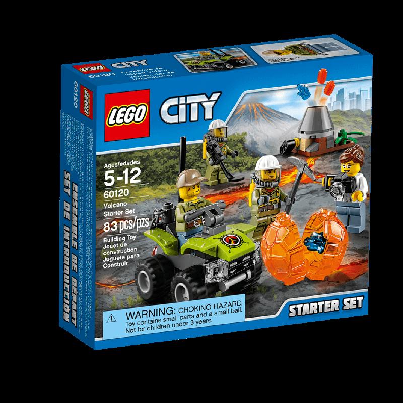 Đồ chơi Lego City 60120 - Núi lửa khởi đầu