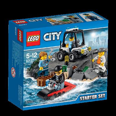 Đồ chơi Lego City 60127 - Cảnh sát biển khởi đầu