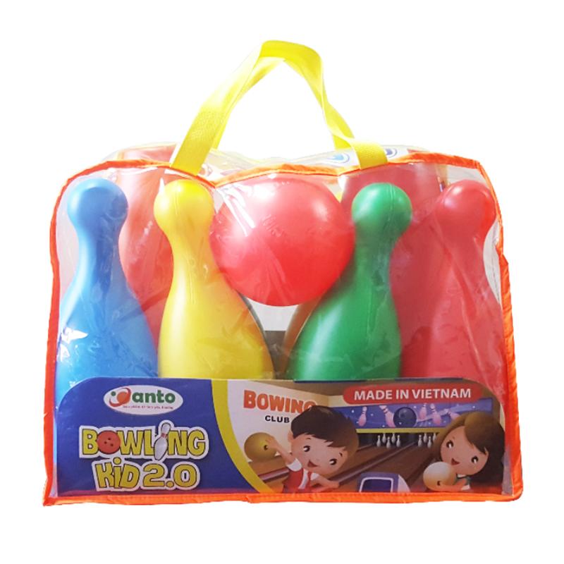 Bộ bóng Bowling kid 2.0 Anto24 (túi)