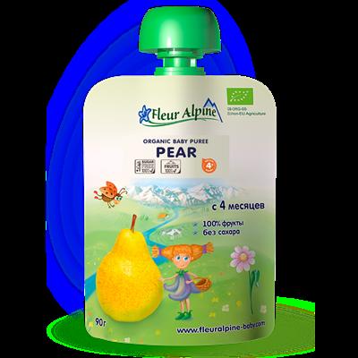 Dinh dưỡng trái cây Fleur Alpine Organic Lê