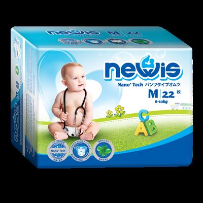 Tã - Bỉm quần Newis M22 (6-10kg)