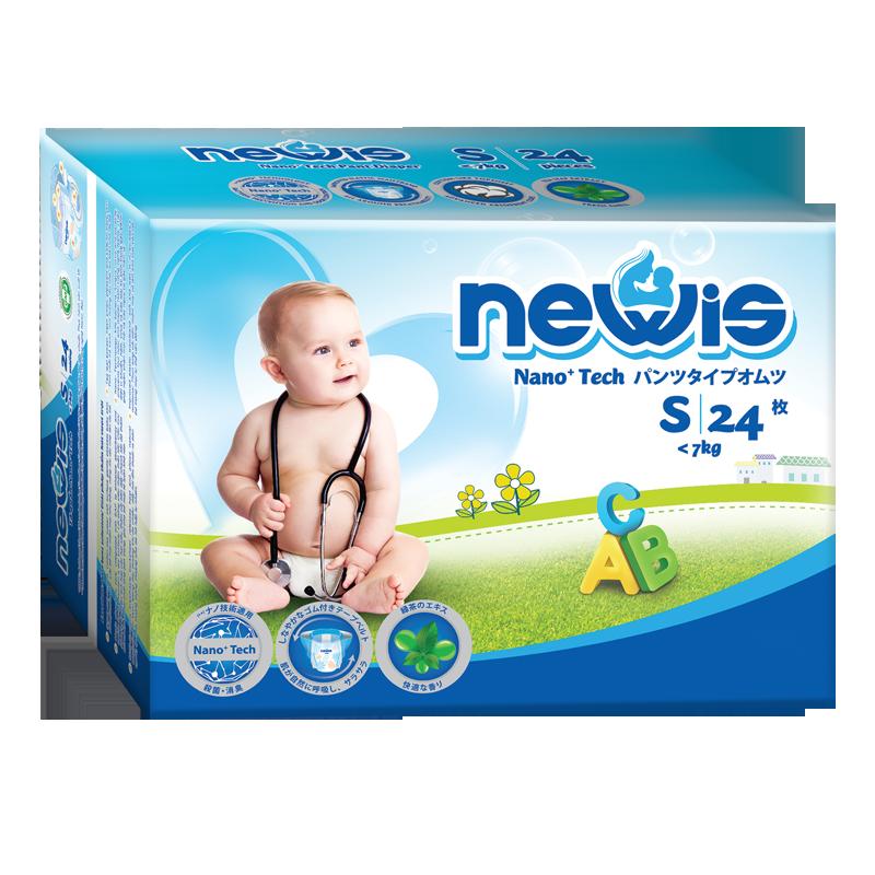 Tã - Bỉm quần Newis S24 (<7kg)