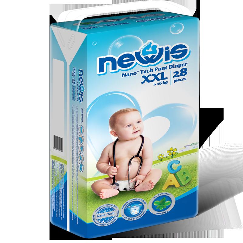 Tã - Bỉm quần Newis XXL28 (>16kg)