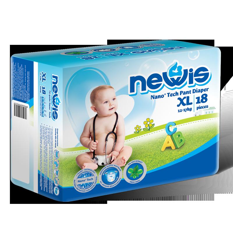 Tã - Bỉm quần Newis XL18 (12-17kg)