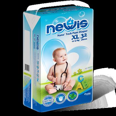 Tã - Bỉm quần Newis XL32 (12-17kg)
