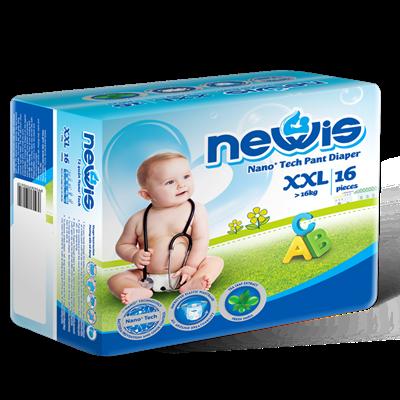 Tã - Bỉm quần Newis XXL16 (>16kg)