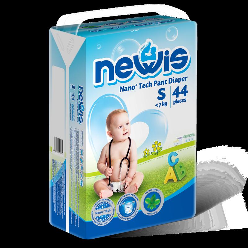 Tã - Bỉm quần Newis S44 (<7kg)