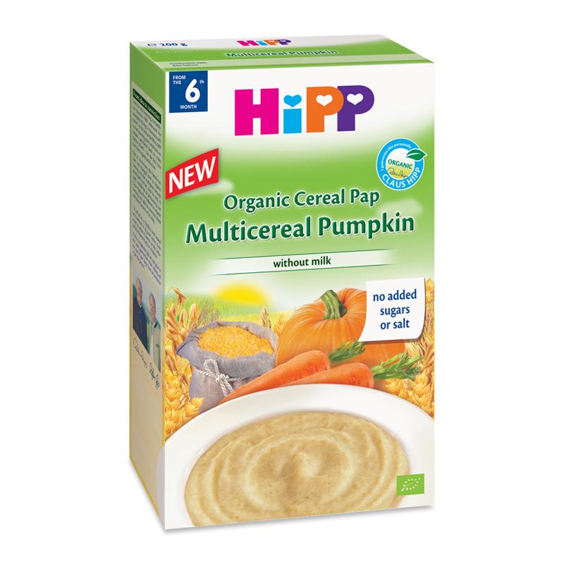 Bột ngũ cốc HiPP bí đỏ (200g)