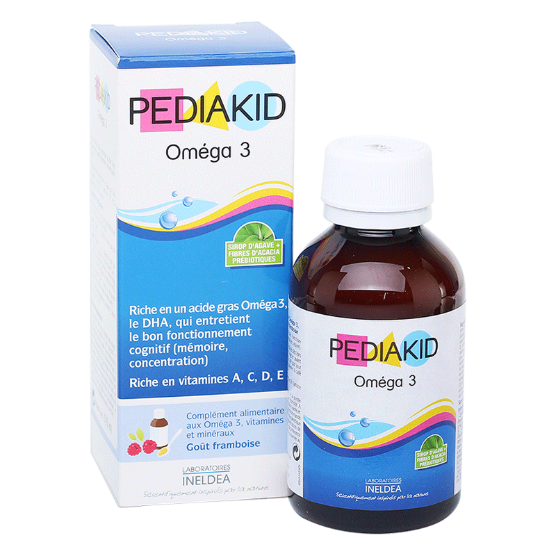 Pediakid Omega 3 & DHA (125ml)