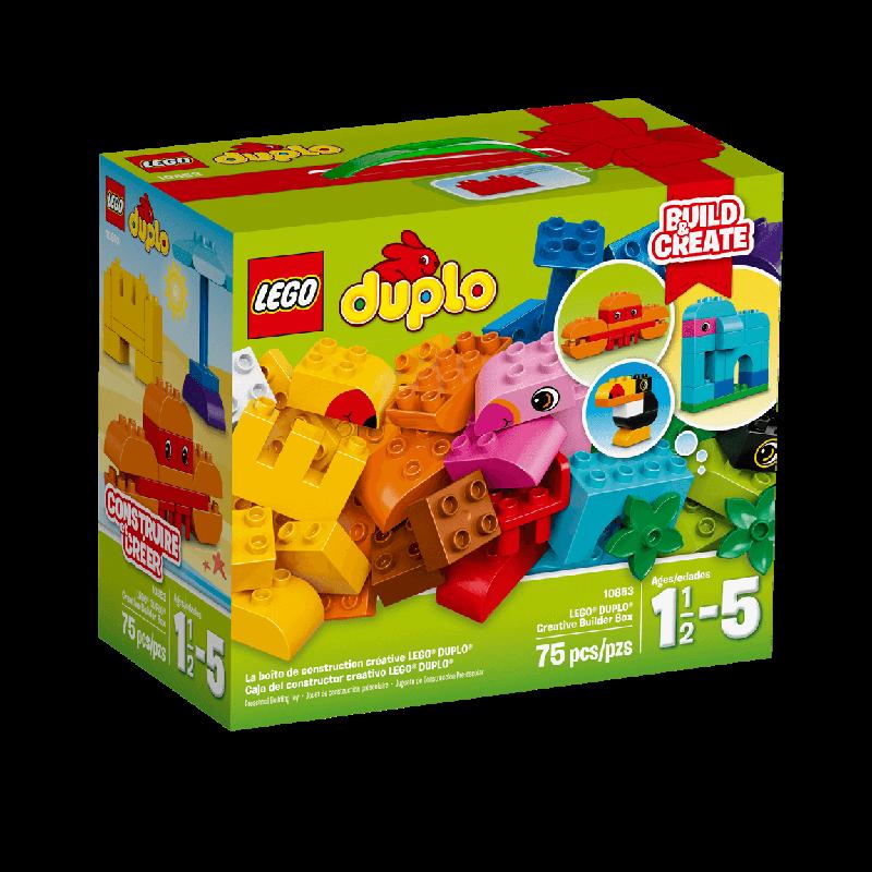 Đồ chơi Lego Duplo 10853 - Lắp ráp sáng tạo (75 pcs)