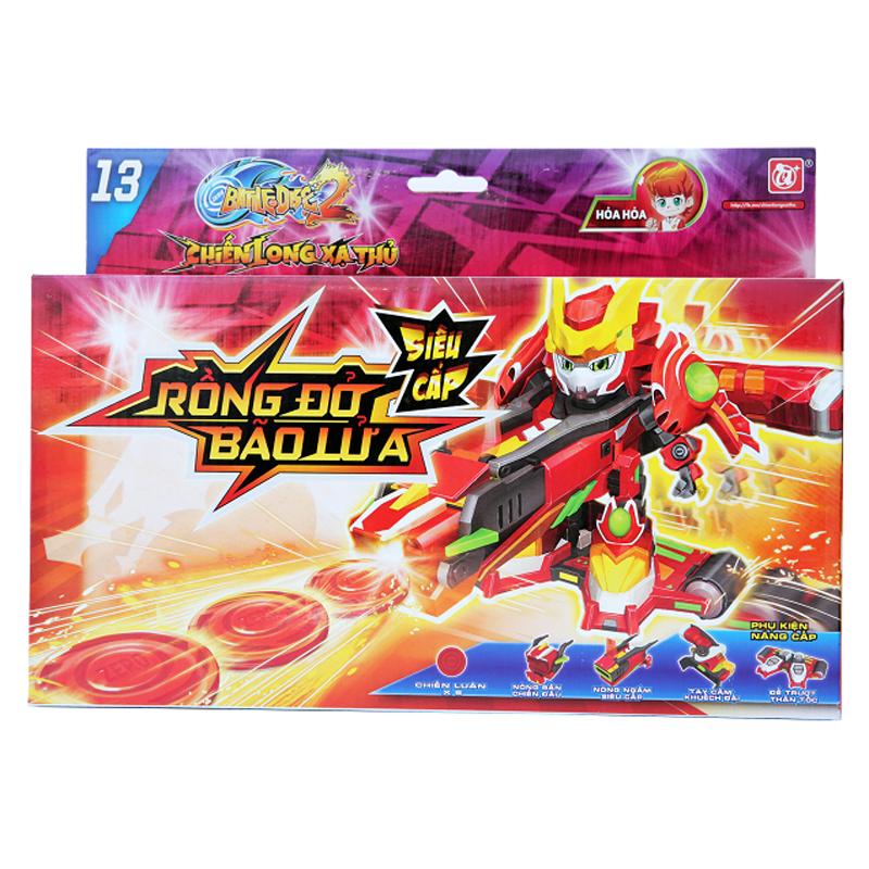 Chiến long xạ thủ - Rồng Đỏ Bão Lửa siêu cấp DQL-80077