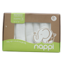 Khăn sữa sợi tre Nappi 30*30cm (6c/hộp)