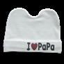 Mũ sơ sinh I Love Papa, Mama