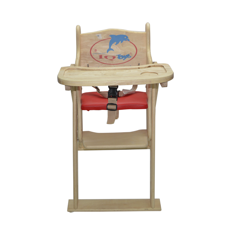 Ghế ăn bột cho bé bằng gỗ IQ Toys